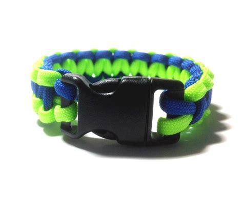 seattle seahawks colors blue seattle seahawks team colors paracord bracelet blue and