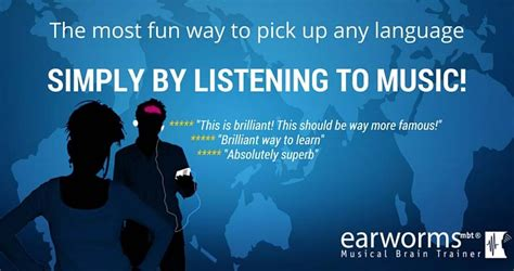 Learn A Language The Fast Way With Earworms learn a new language easily with earworms daily deals cy