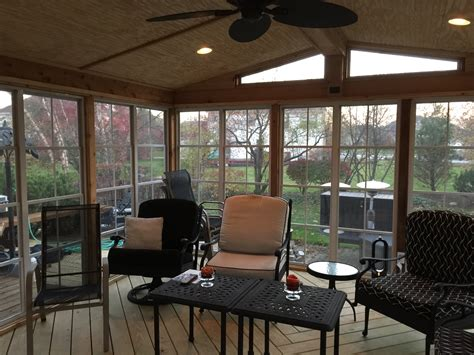 Bar Stools And Dinettes Issaquah by Gallery Chicago Decks And Porches Roof Deck Screened Porch