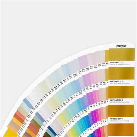 c color pantone metallics coated guide color inspiration