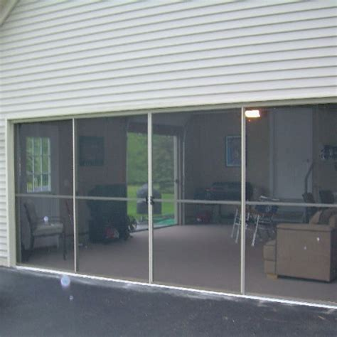 Sliding Garage Door Screens From Killian S Of Palm Coast Fl Garage Door Screen Door