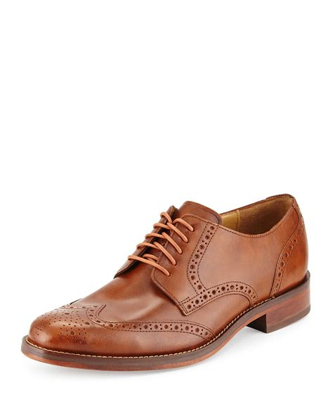 wing shoes oxford cole haan wing tip oxford lace up in brown for
