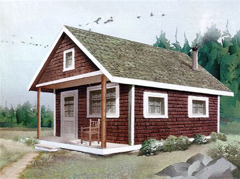 build a cottage build this cozy cabin diy mother earth news