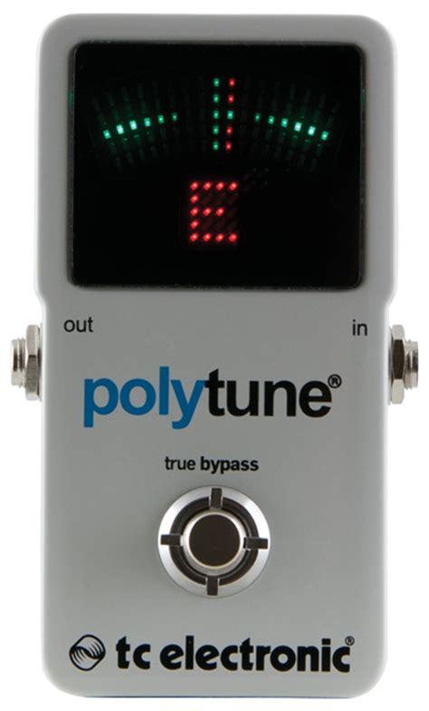 Tc Electronic Polytune2 by Tc Electronic Polytune 2 Review Premier Guitar