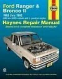 car engine repair manual 1995 ford bronco engine control ford ranger and bronco ii automotive repair manual 1983 1992 2wd and 4wd models with a