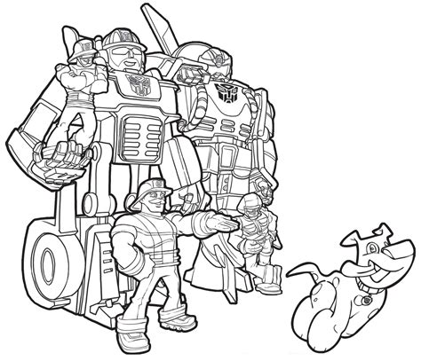Coloring Pages Rescue Bots Coloring Home Printable Rescue Bots Coloring Pages