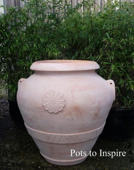 Terracotta Garden Decor Large Terracotta Garden Urn Decor Feature Pot Woodside Garden Centre Pots To Inspire