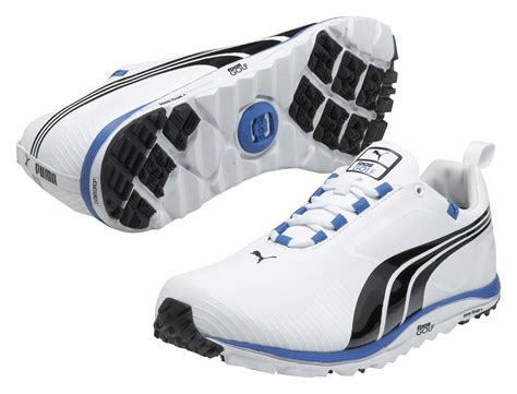 Faas White faas lite spikeless shoes white black blue golfonline