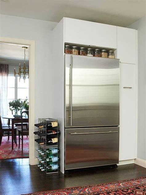 Kulkas Kecil Untuk Hotel 10 ide optimalkan area kosong di atas kulkas rumah dan