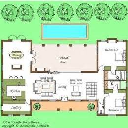 H Shaped House Floor Plans 1000 Images About H Shaped House Plans On Pinterest