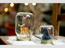 Glass Jar Christmas Crafts - 17 Homemade Inspirations Xmas Ornaments To Make