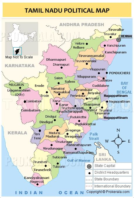 political map of chennai tamil nadu national disaster management authority