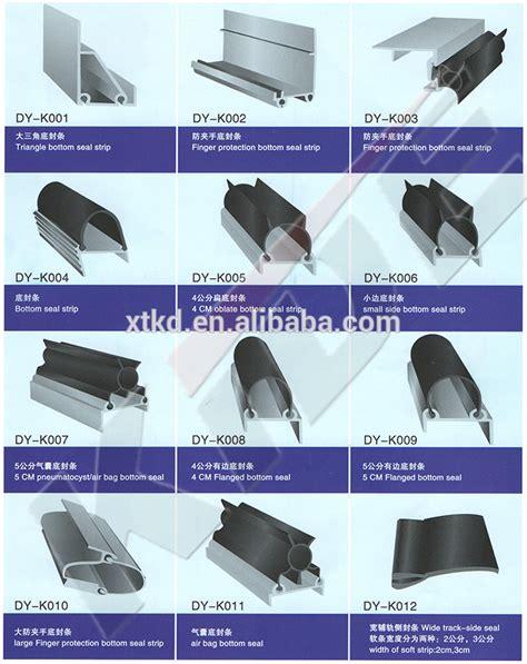 Types Of Garage Door Seals best price waterproof garage door seal for bottom and