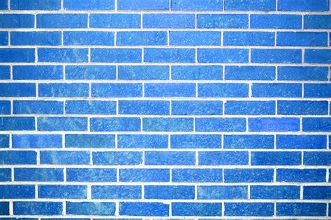 wallpaper blue brick sky blue brick wall texture picture free photograph