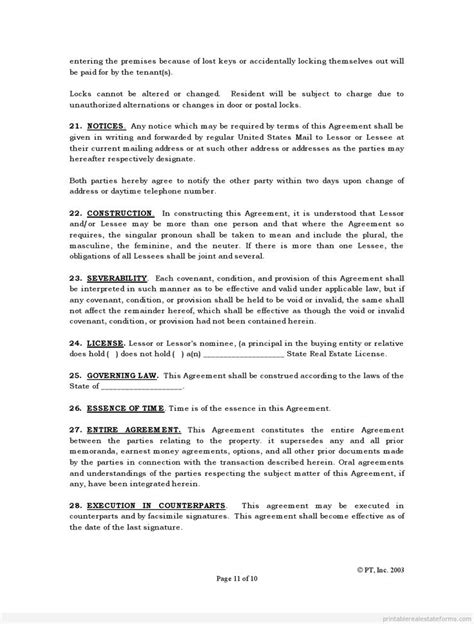 Agreement Letter Pattern 871 best template for real estate pdf images on