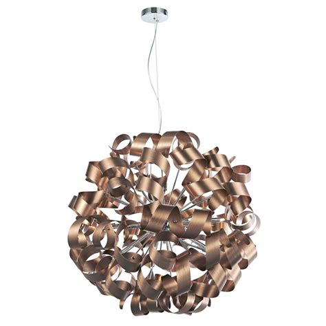 ribbon pendant ceiling light contemporary ceiling pendant wrapped in nest of