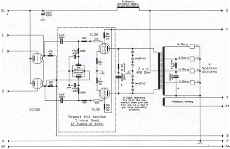 guitar lifier wiring diagram