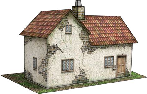 Paper Craft Home - frontier house paper model dave s