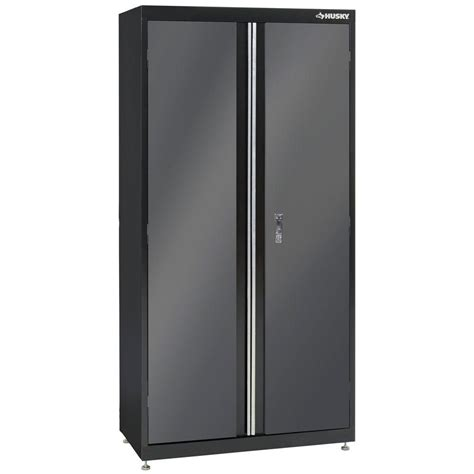 Husky 32 Steel Cabinet by Hdx 35 In W 4 Shelf Plastic Multi Purpose Cabinet In Gray