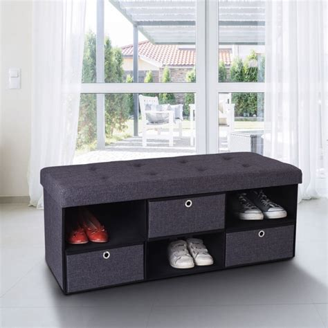 Banc Coffre But by Free Banc Coffre Tissu Tiroirs Gris Xx Cm Pliable With
