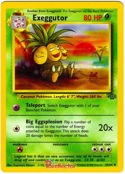 Kartu Trading Card Tcg Lickitung 1 exeggutor jungle 35 card