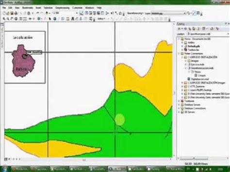 tutorial georeferenciacion arcgis cap 1 01 mxd y shap elaegypt