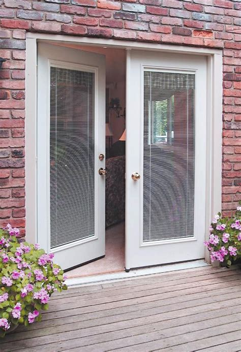 Single Patio Door With Built In Blinds by Patio Doors With Built In Blinds 7 Style Of