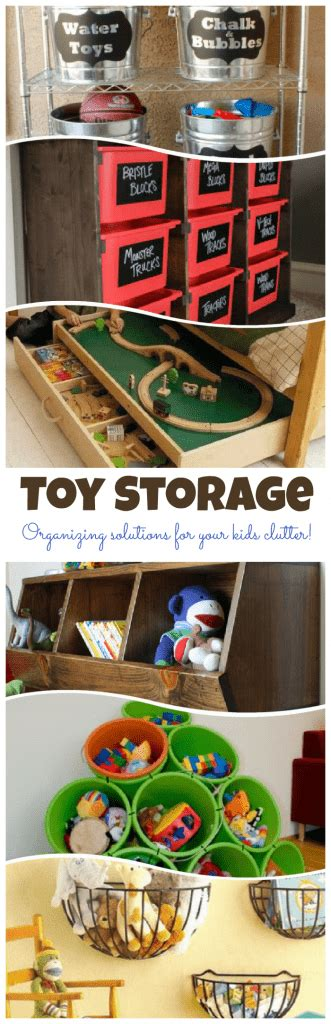 creative toy storage solutions for your kids room toy storage organizing your kids clutter