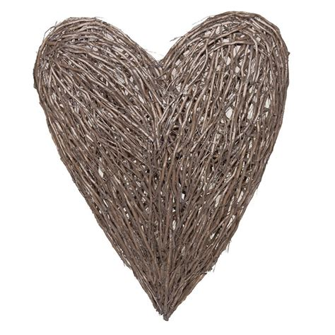 www large extra large wicker heart gallery accessories