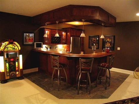 Modern Wet Bar Kitchen And Bars Traditional Basement Indianapolis