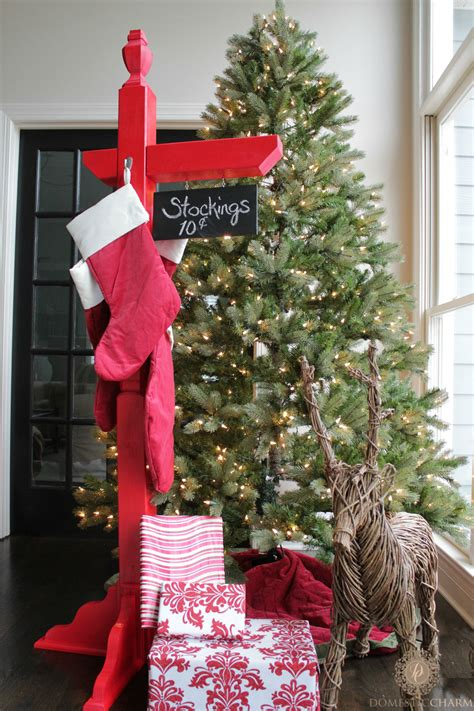 diy home depot diy stocking holder with the home depot domestic charm