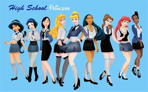 Disney Go To School disney princesses on disney princesses and disney couture