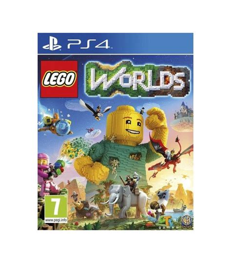 Ps4 Playstation 4 Lego Worlds lego worlds ps4