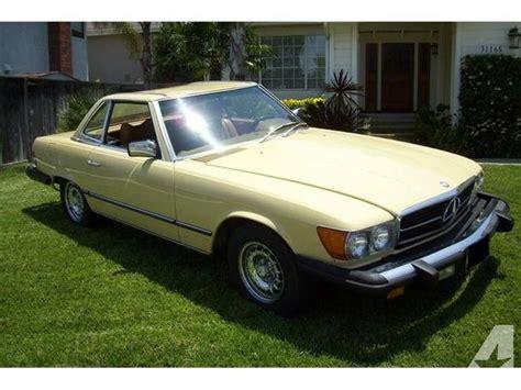 1979 mercedes 450sl for sale 1979 mercedes 450sl for sale in orange california