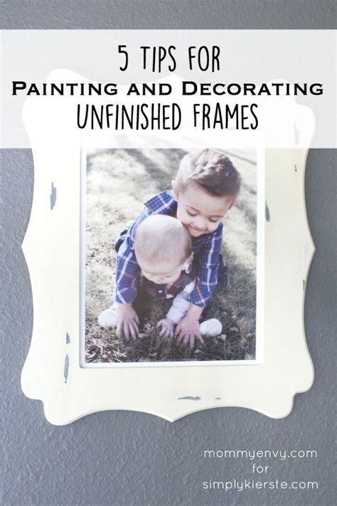 diy 5 ways to decorate boring picture frames youtube 5 tips for painting decorating unfinished frames diy