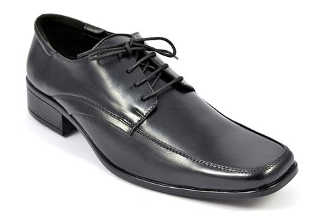 Shoes Leather Shoes Black mens black leather shoes style 1037