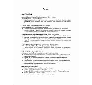 resume for internship 998 samples 15 templates - Resume Templates Science Majors