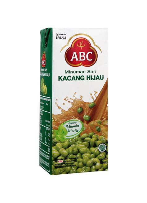 Abc Juice Kacang Hijau 1000ml abc juice kacang hijau tpk 250ml klikindomaret