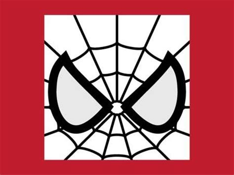 spiderman eye pattern spider man mask template printable illusion or not is