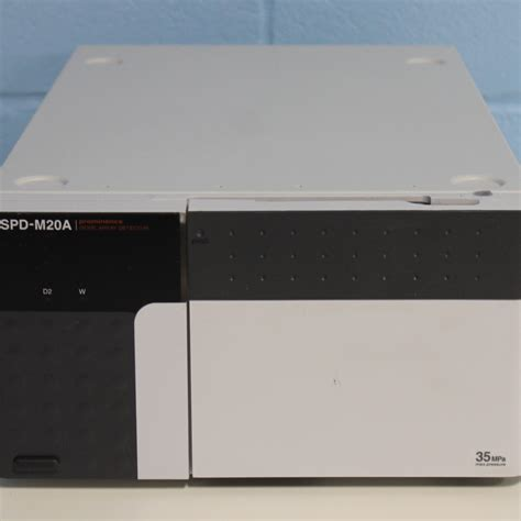 shimadzu spd m10avp diode array detector shimadzu spd m20a photodiode array detector