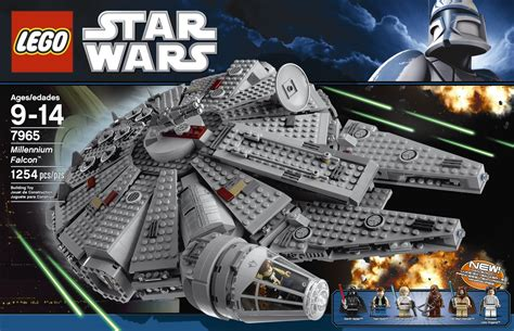 millennium star star wars millennium falcon kit 7965 photo shoot