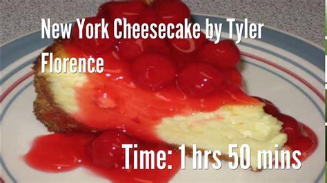 tyler florence cheesecake recipe new york cheesecake by tyler florence recipe youtube