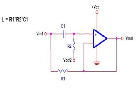 inductor schematic free schematic diagram simulated inductor circuit