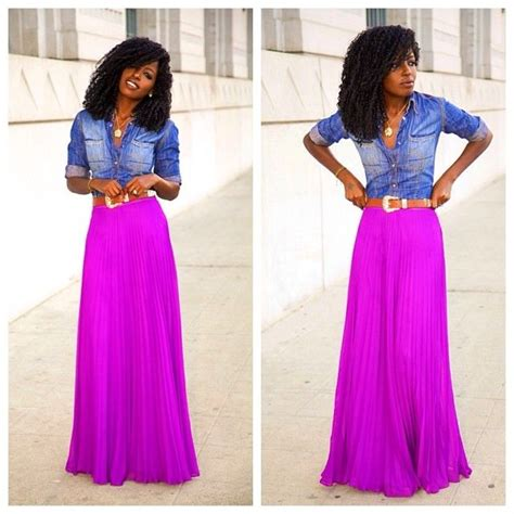 25 best ideas about purple maxi skirts on