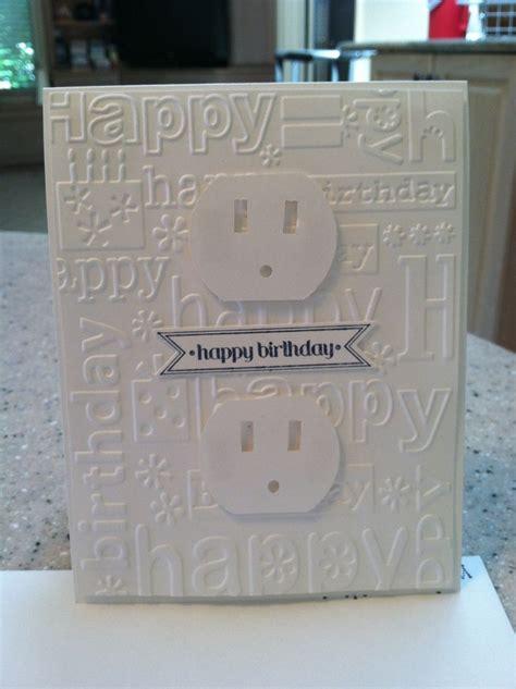 Electrician Birthday Card Electrician Birthday Cards Sting Ideas Pinterest