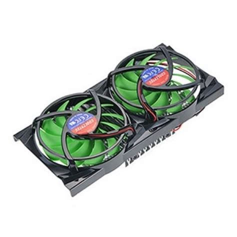 3 fan graphics card pc computer vga video graphics card cooler heatsink dual