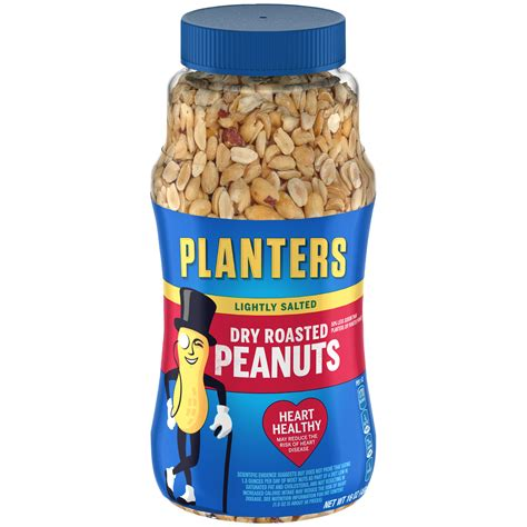 planters peanuts dry roasted lightly salted 1 lb 453 g
