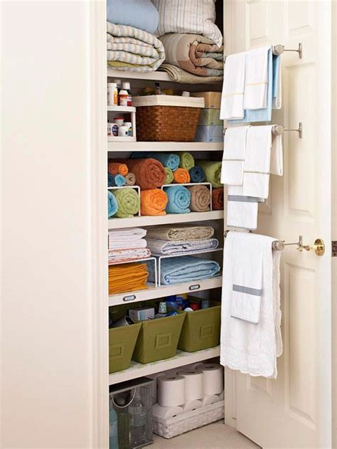 bathroom linen storage ideas best 25 small linen closets ideas on closet