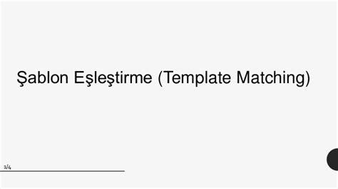 template matching opencv opencv nesne tespiti template matching y 246 ntemi