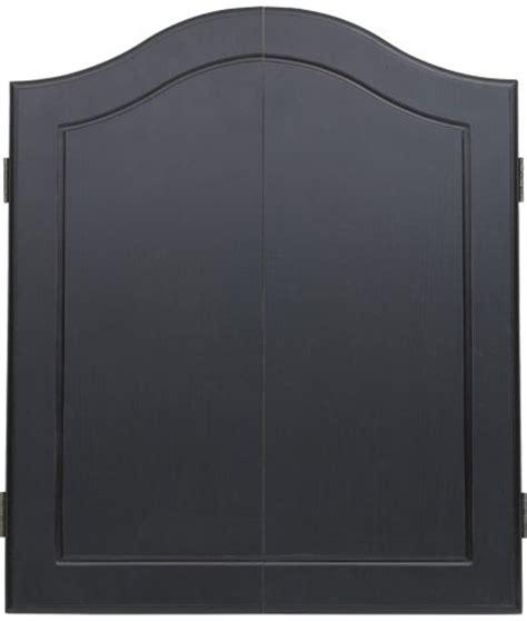 black dart board cabinet stained wooden dart board cabinet black sporting goods